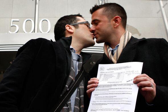 Los matrimonios entre personas del mismo sexo han sido rechazados desde...