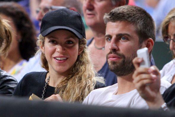 Shakira y Piqué no podrían estar más felices.