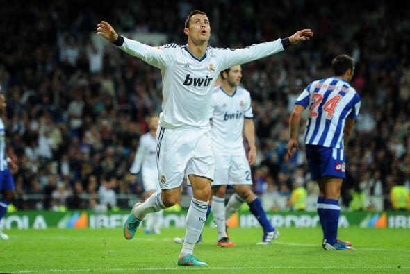 Con tres goles de Cristiano, Real Madrid acabó ganando por 5-1.