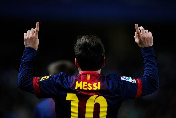 El luso está lejos del argentino. Once goles por debajo. Messi ha...