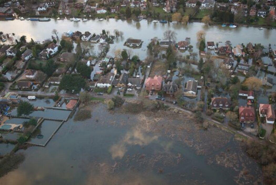 Pese a las inundaciones históricas que han padecido en Gran Bretaña, los...