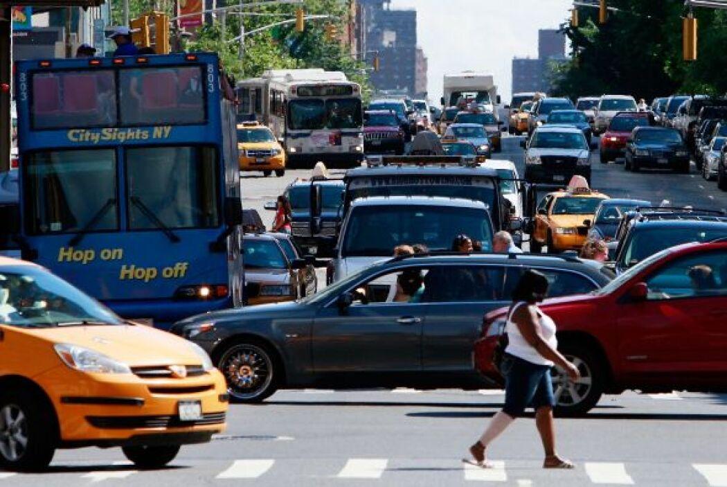 6.-Nueva York: El caos vial es una constante en la Gran Manzana, sin emb...