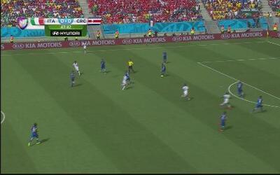 Costa Rica elimina a Italia en el Mundial de Brasil