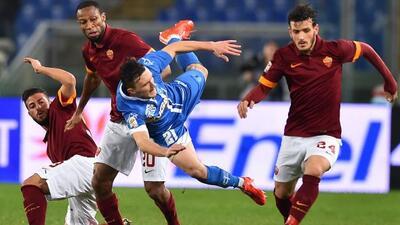 Roma no pudo en casa contra el Empoli.