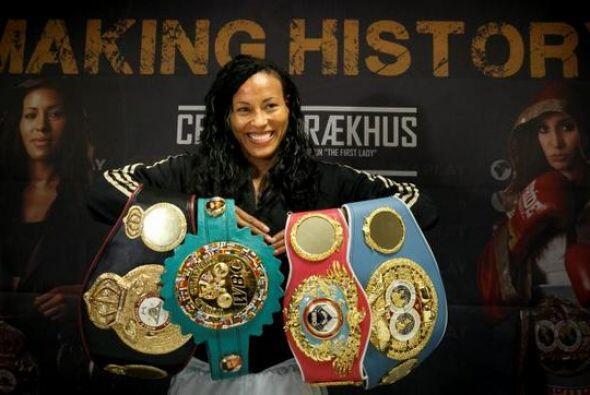 La peleadora del año fue Cecilia Braekhus, la púgil naci&o...