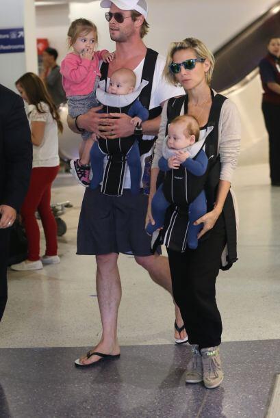 ¿Creen que este par se apunte a tener más bebés?