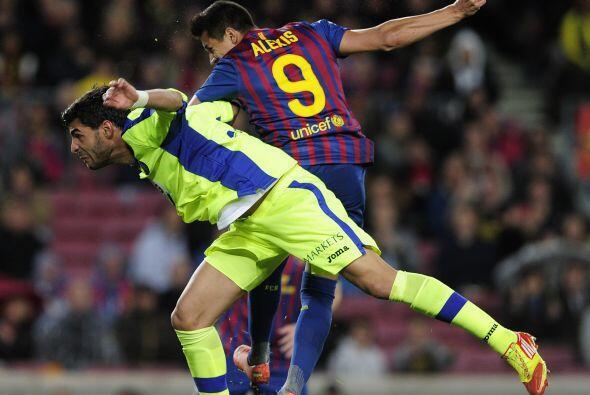 Alexis Sánchez puso la cabeza, marcó el tercero del equipo...