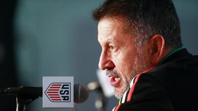 Juan Carlos Osorio se concentra en los compromisos estivales del 'Tri'.