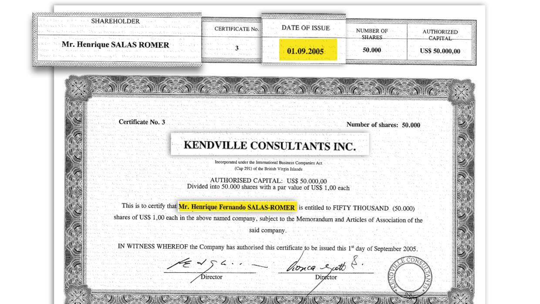 Se emitió certificado a nombre del hijo, también exgobernador de Carabobo