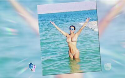 La única que puede revivir al Mar Muerto fue la ganadora del 'look de la...