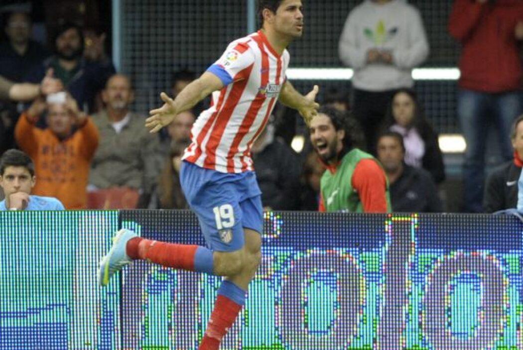 Pero el brasileño Diego Costa puso el primer gol en favor de los madrile...