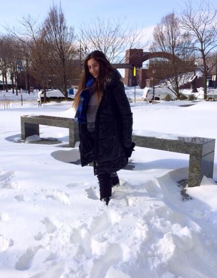 Mía también se congeló con las bajas temperaturas, pero cómo disfrutó es...