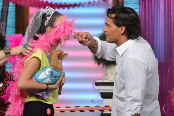 Doña Meche se lució y no sólo trajo a Cristian de l...