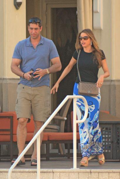 La actriz y su prometido están de vacaciones, después de h...