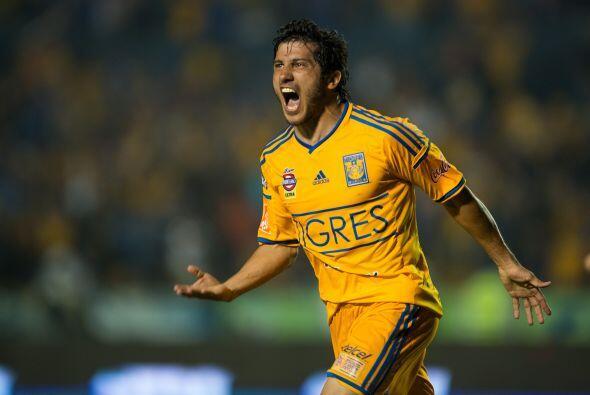 En el tercer lugar tenemos a los Tigres, el bicampeón de la Liga...