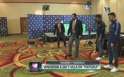 Univision Deportes les pasó el trapo a 'Gio' dos Santos y a Villa en el...