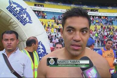 "Marco Fabián: ""Tuve una tarde inolvidable"""
