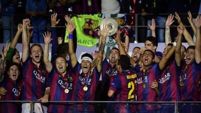 Rakitic, Luis Suárez y Neymar anotaron los goles que liquidaron a la Juv...