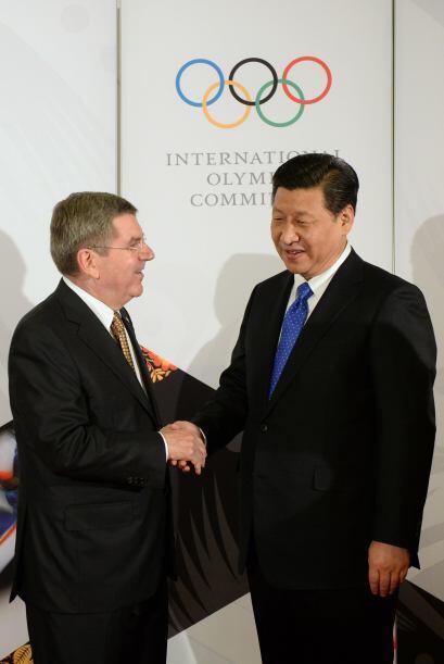 Thomas Bach también se reunió con el presidente chino, Xi Jinping.