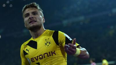 Immobile salvó al Borussia de otra derrota como local.