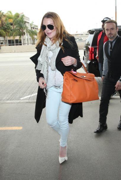 Lindsay se volvió para Nueva York.