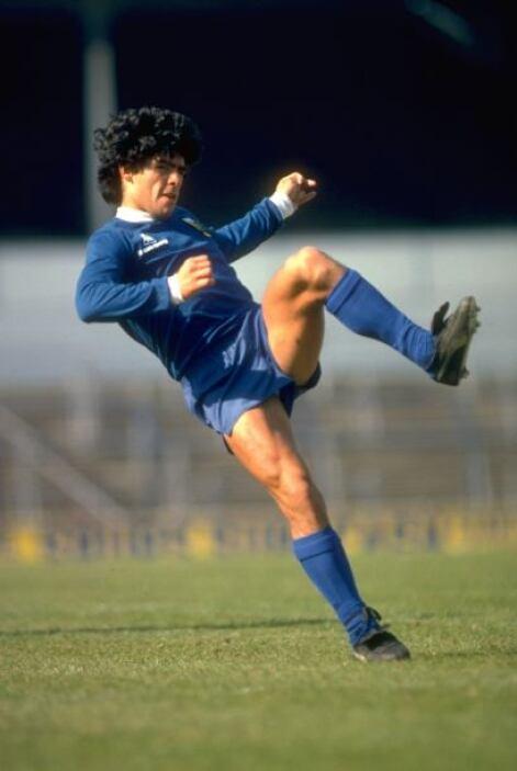 Ni qué decir de Diego Armando Maradona, que se convirtió en un verdadero...