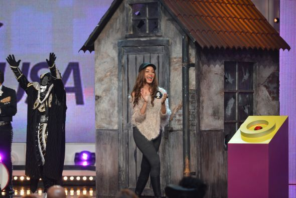 Al final el público decidió que la vencedora de la noche era Karol Rosa,...