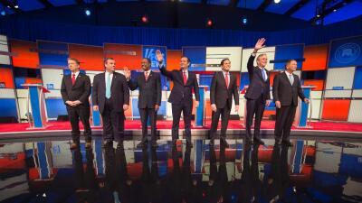 Debate republicano en Iowa