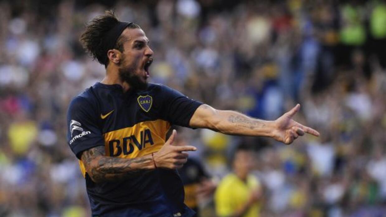 Daniel Osvaldo sigue enrachado con Boca Juniors.