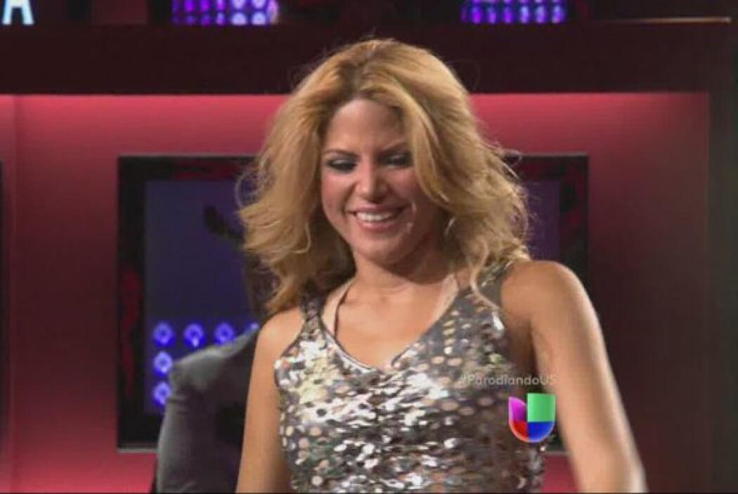 Shakira con Angélica Vale.