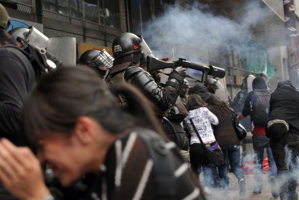 "Flórez detalló que la ""Marcha Nacional de los Indignados"" se despliega e..."