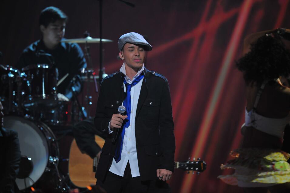 Así de 'cute' lucía Prince Royce en 2010 en Premios Juventud.