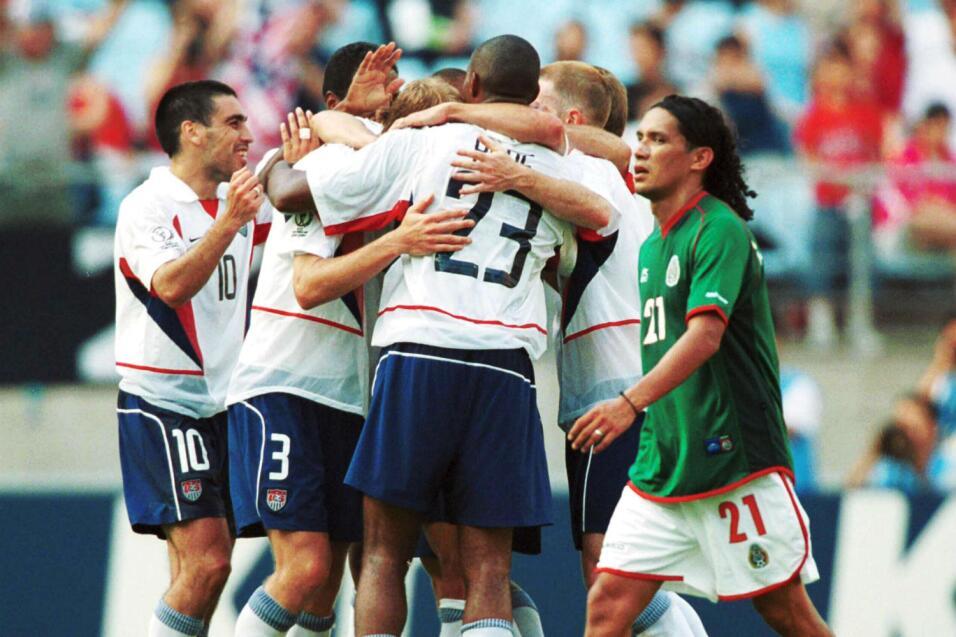 Historia de la maldición de Columbus: México vs Estados Unidos OK 2002 J...