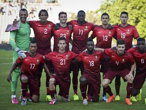 Portugal está en el Grupo G de la competencia. Está junto...