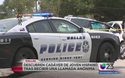 Descubren cadáver de joven hispano