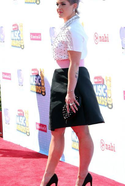 La 'fashionista' dejó claro que una de las tendencias que predomi...