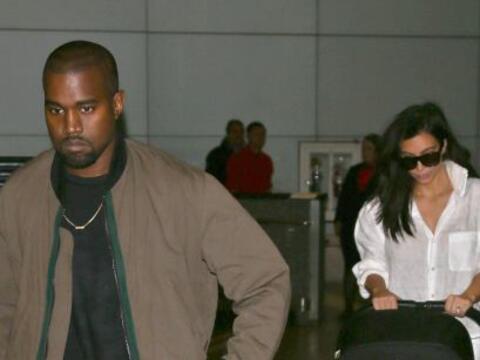 Los West Kardashian regresaron a Los Ángeles después de co...