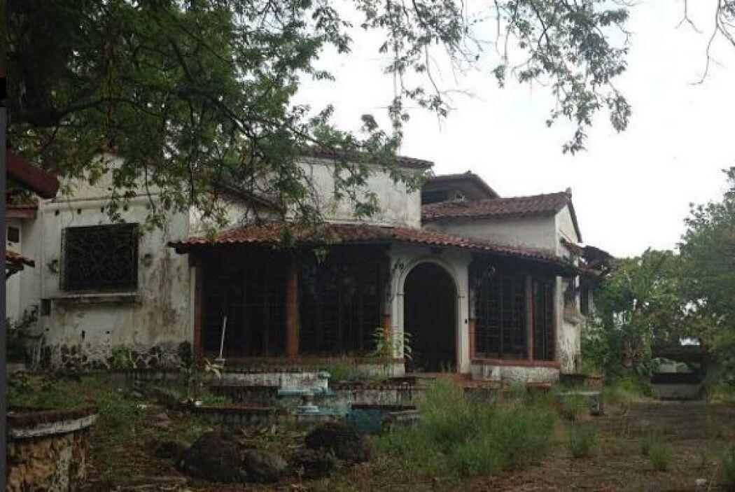 Aquí fue donde vivió el dictador Manuel Antonio Noriega que gobernó Pana...