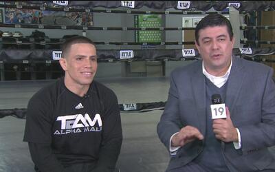 Héctor Sandoval habla de su combate en Sacramento