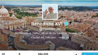 Benedicto XVI en las redes sociales
