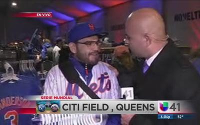 Sigue la fiebre del triunfo de los Mets