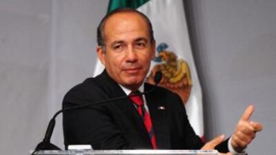 El presidente de México, Felipe Calderón, lanzó en 2006 una guerra abier...