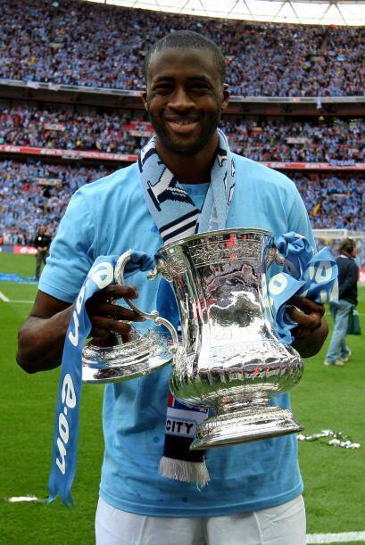 Marcó el gol con el que su club levantó la FA Cup y es uno...
