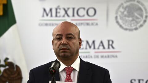 Renato Sales Heredia, Comisionado Nacional de Seguridad mexicano.