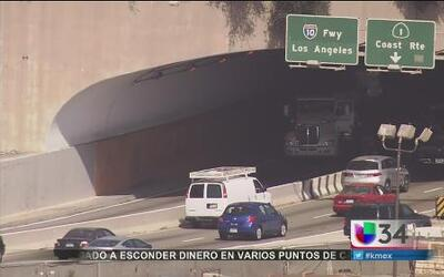 Accidente en Santa Mónica fue causado por exceso de velocidad