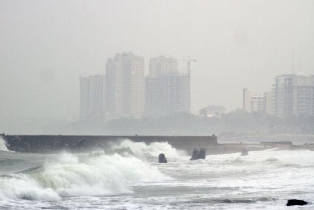 Las Carolinas sintieron leves efectos de la tormenta el sábado.