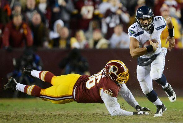 Los Redskins se quedaron en la orilla y con RG3 lesionado, Seattle avant...