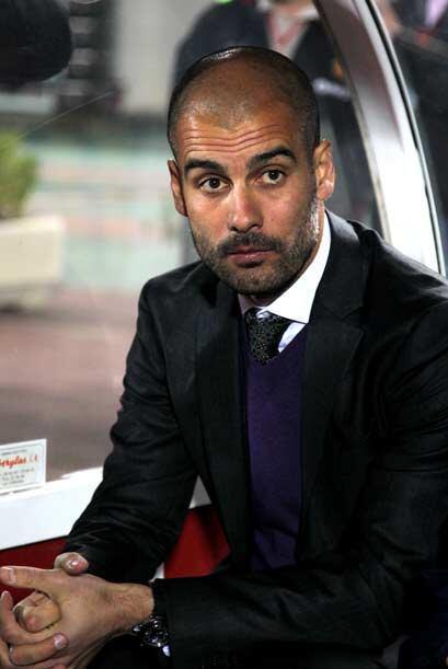Guardiola sufrió desde el banquillo un partido muy complicado par...