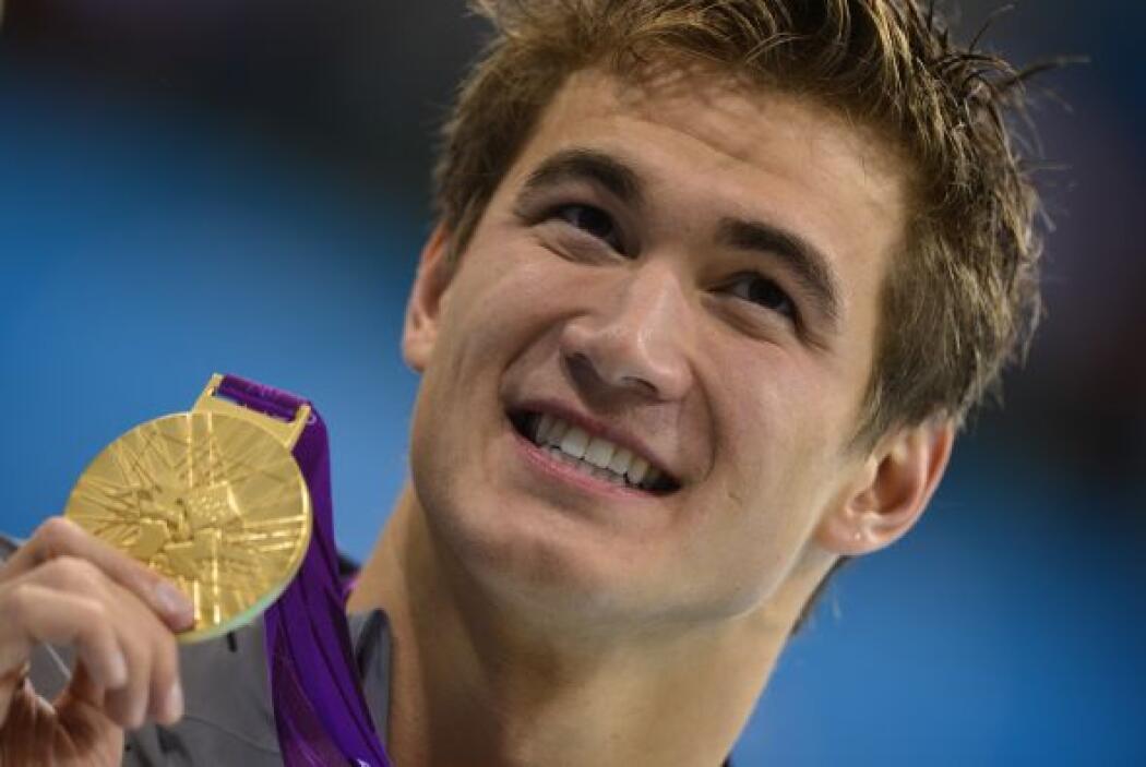 9- NATHAN ADRIAN, nadador  Medallas de oro: 2  Medallas de plata: 1  Med...