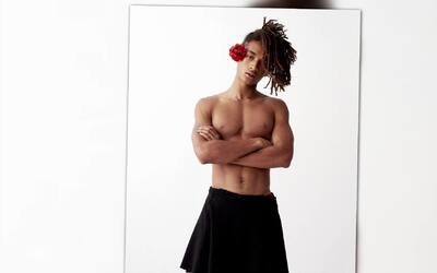 ¿Por qué usa faldas Jaden Smith?